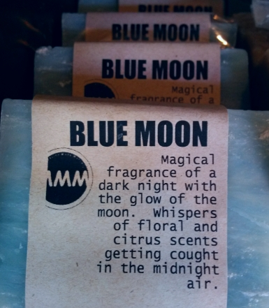 BLUE MOON Natural Soap Bar from Mendocino Made Marvels