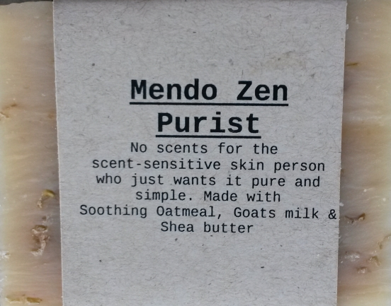 Mendo Zen Bar  from Mendocino Made Marvels