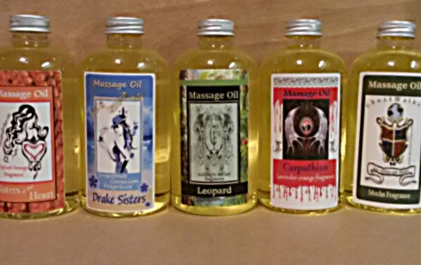Massage Oil 8oz. from Mendocino Made Marvels