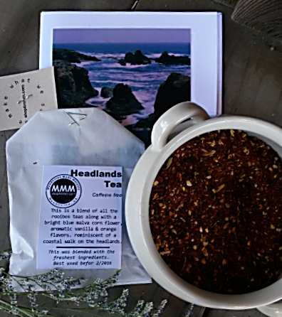 HEADLANDS Tea from Mendocino Made Marvels