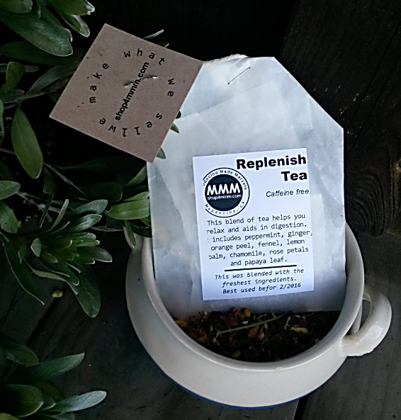 REPLENISH Tea from Mendocino Made Marvels