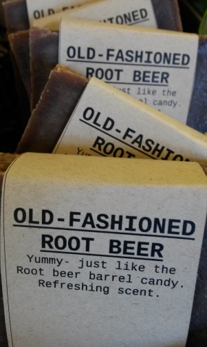 OLD FASHIONED ROOT BEER Natural Soap Bar from Mendocino Made Marvels