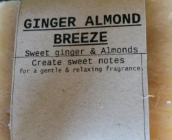 GINGER ALMOND BREEZE Natural Soap Bar