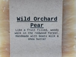 WILD ORCHARD PEAR Natural Soap Bar