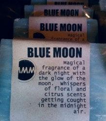 BLUE MOON Natural Soap Bar