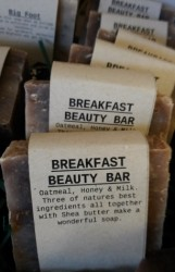 BREAKFAST BEAUTY BAR Natural Soap