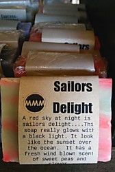 SAILORS DELIGHT Natural Soap Bar