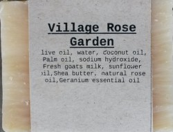 VILLAGE ROSE GARDEN Natural Soap Bar