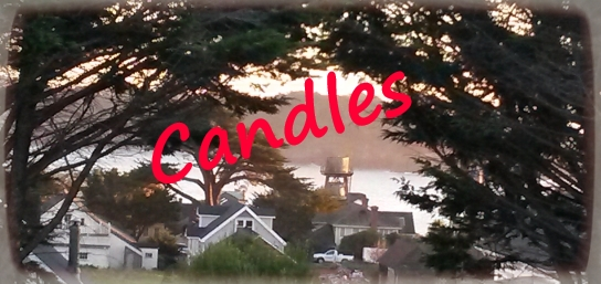 CANDLES from Mendocino Made Marvels
